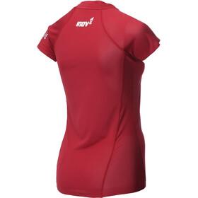 inov-8 AT/C Hardloopshirt korte mouwen Dames rood